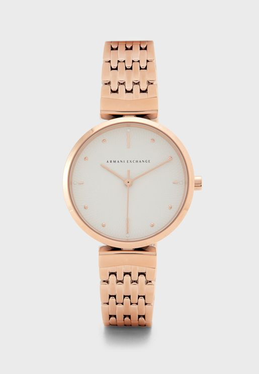 Zoe Stainless Steel Watch