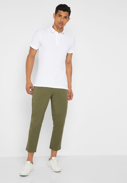 Cam Cropped Chinos