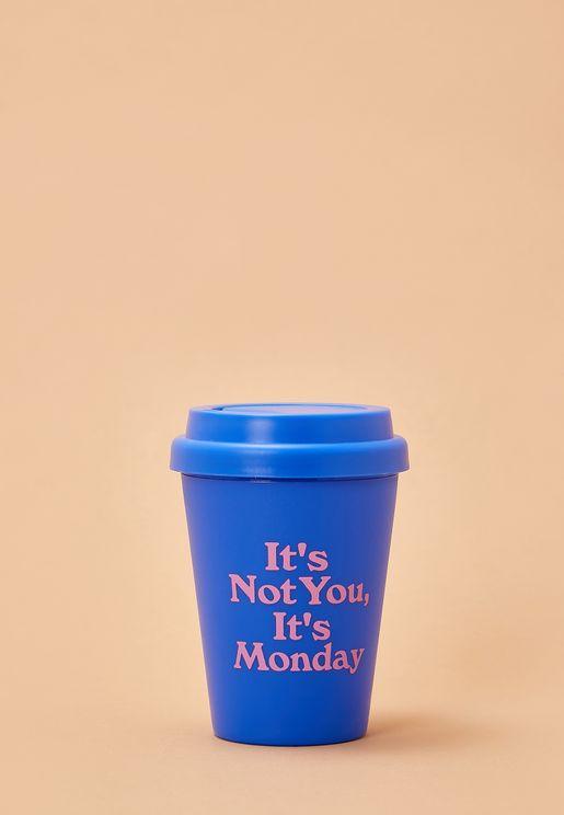 Travel Mug - It's Not You, It's Monday