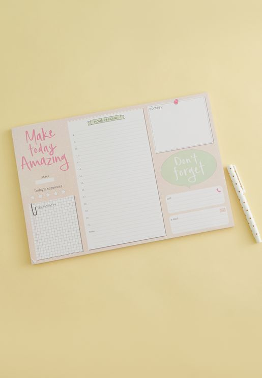 Make Today Amazing Planner