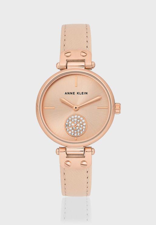 AK3380RGLP Analog Watch