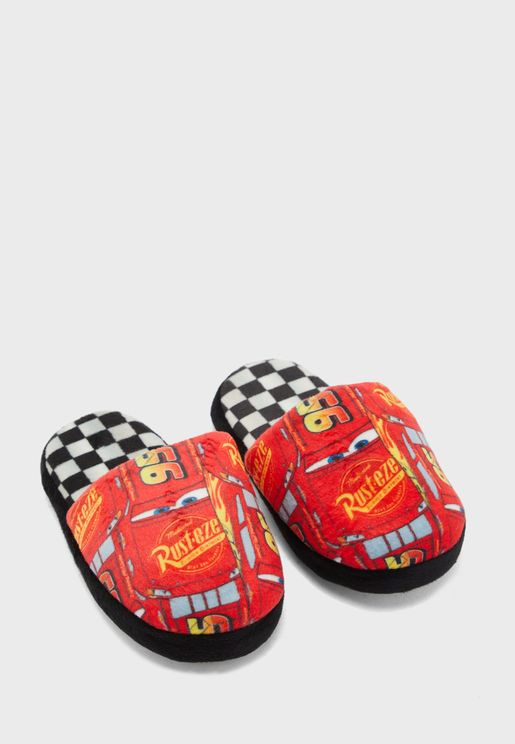 Kids Cars Home Slippers
