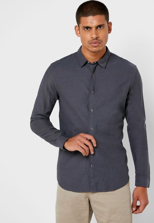 قميص اوكسفورد مريح