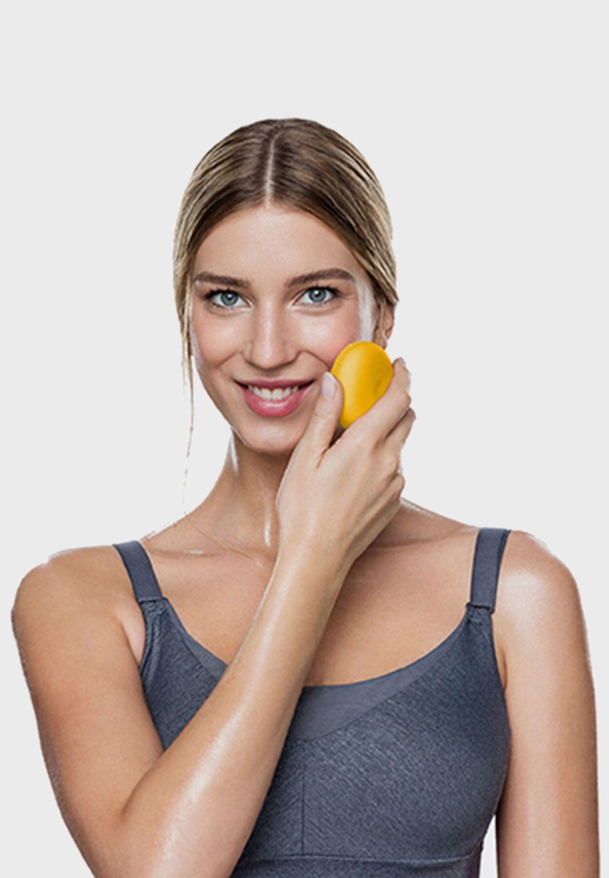 فرشاة لونا بلاي بلس لتنظيف الوجه - صن فلاور