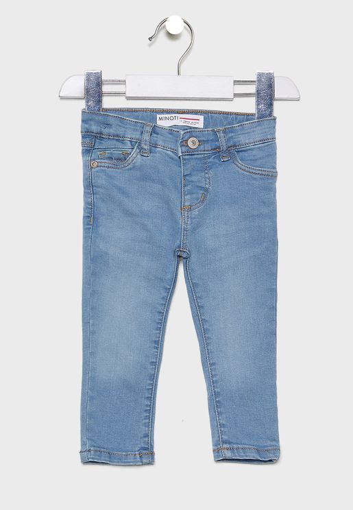 Infant Light Wash Skinny Jeans