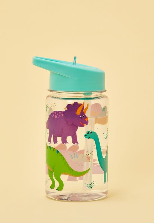 Drink Up Dinosaur Water Bottle