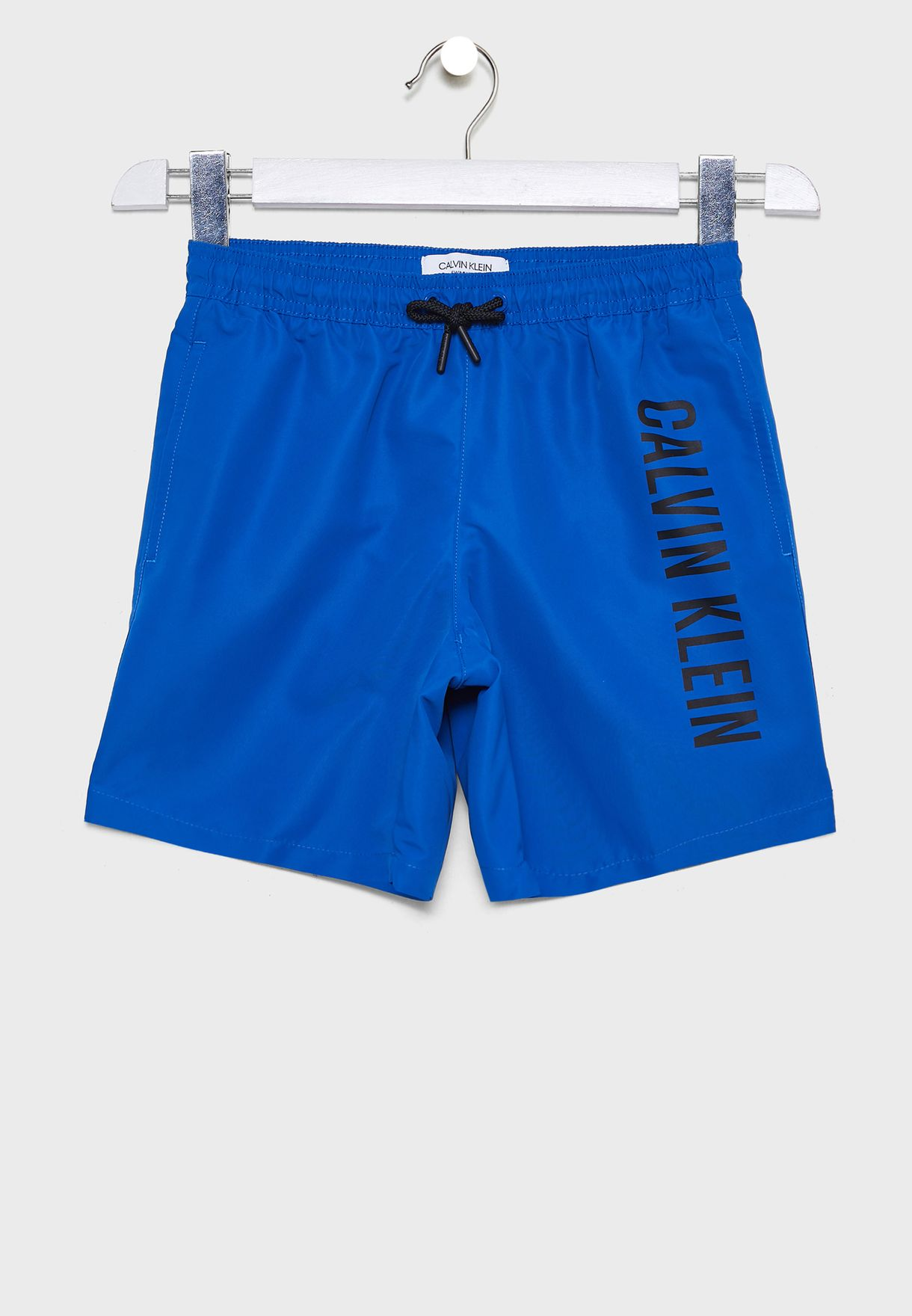 Kids Drawstring Logo Shorts