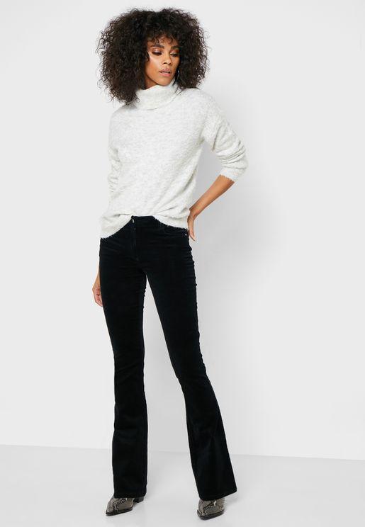 Kick Flared Cord Jeans