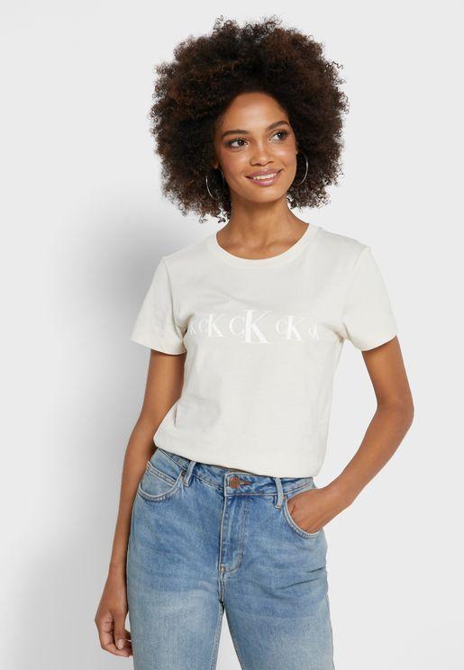 Logo Trim T-Shirt