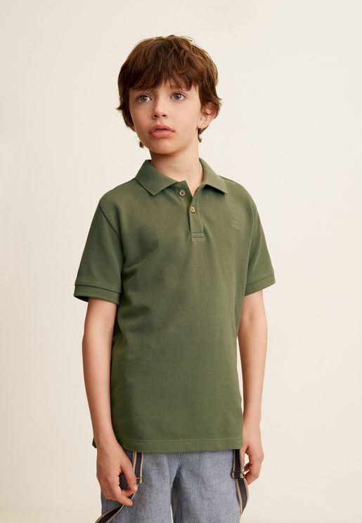 Kids Essential Polo Shirt