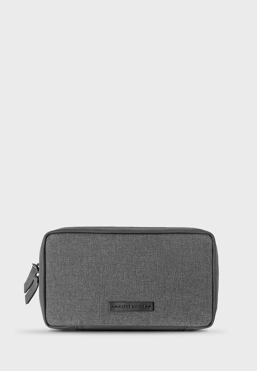 Stow Travel Organizer Pouch Fabric - Slate V2