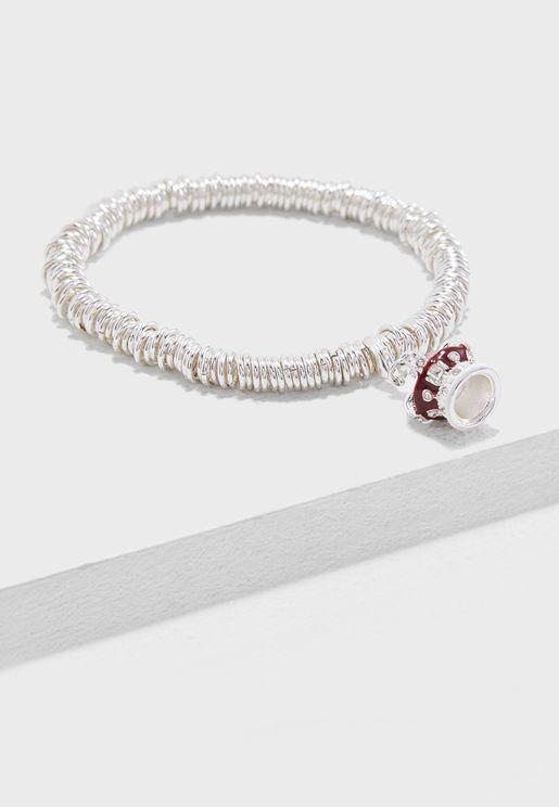 Candy Crown Charm Bracelet