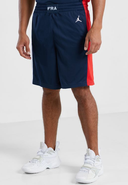 شورت بشعار فريق فرنسا لكرة السلة