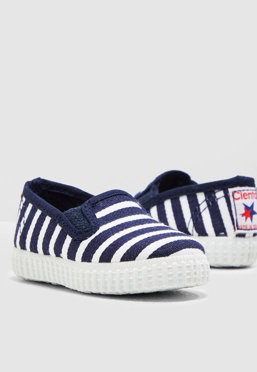 Infant Striped Slip On