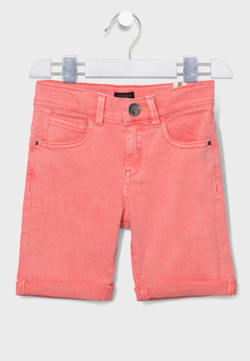 Youth Adjustable Waistband Shorts
