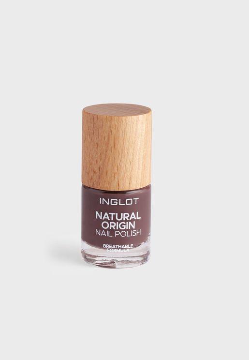 Natural Origin Nail Polish True Ebony 017