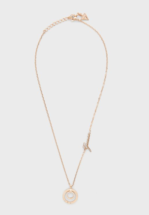 Chain Circles Necklace