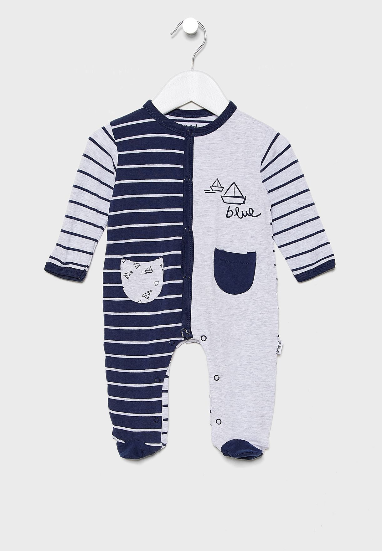 Infant Over The Sea Romper
