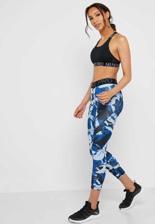 Pro Forest Camo Cropped Tights