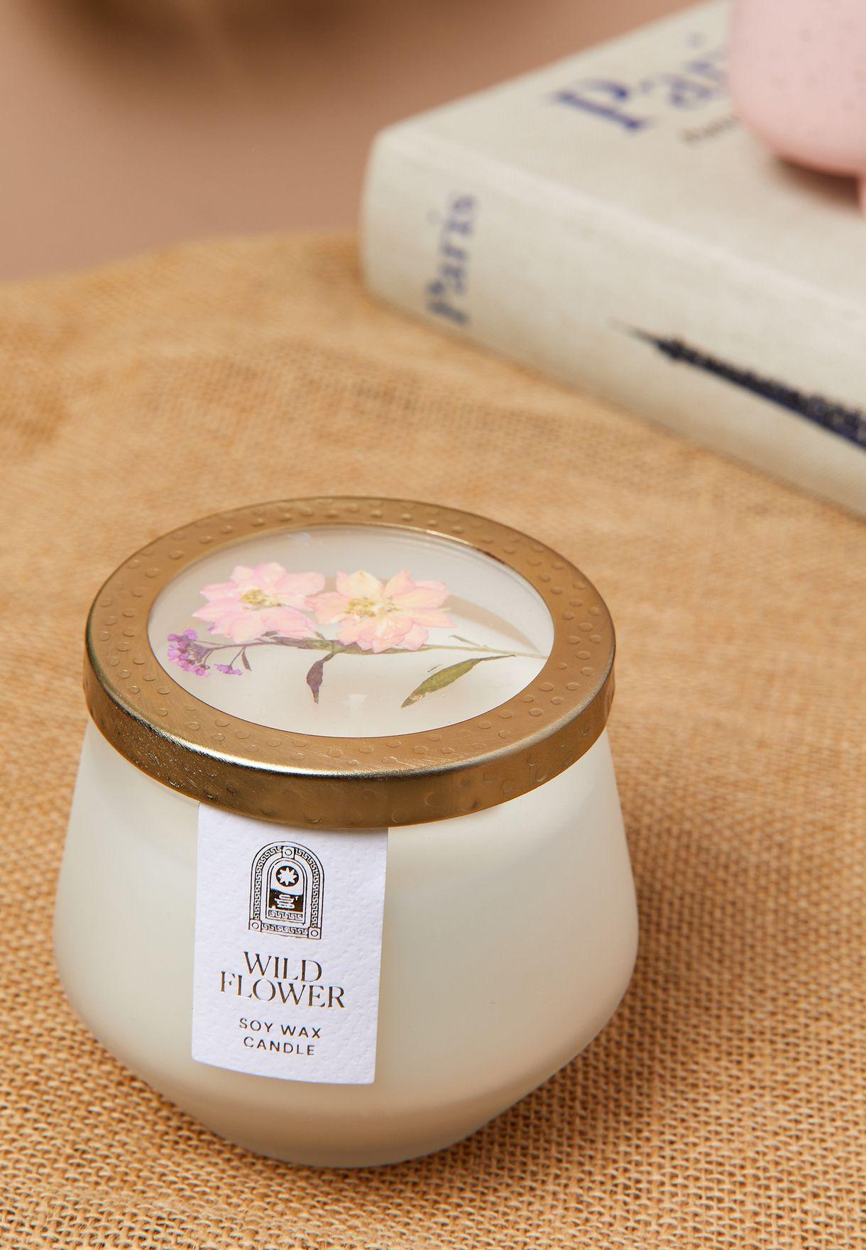 Peony & Blossom Botanical Candle