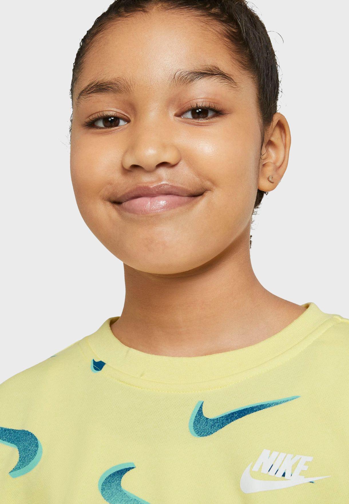 Youth NSW AOP Boyfriend Sweatshirt