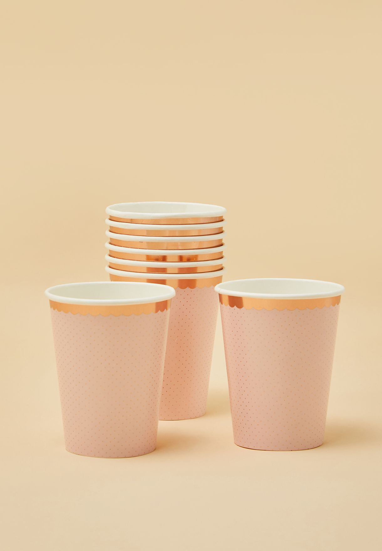 Ditsy Floral Cups Set of 8