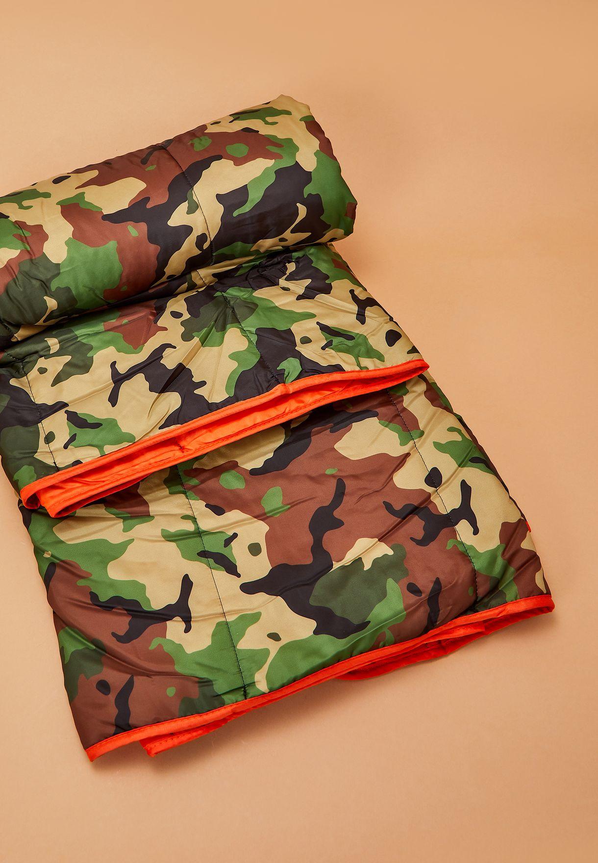 بطانية مطبعة سهلة الحمل