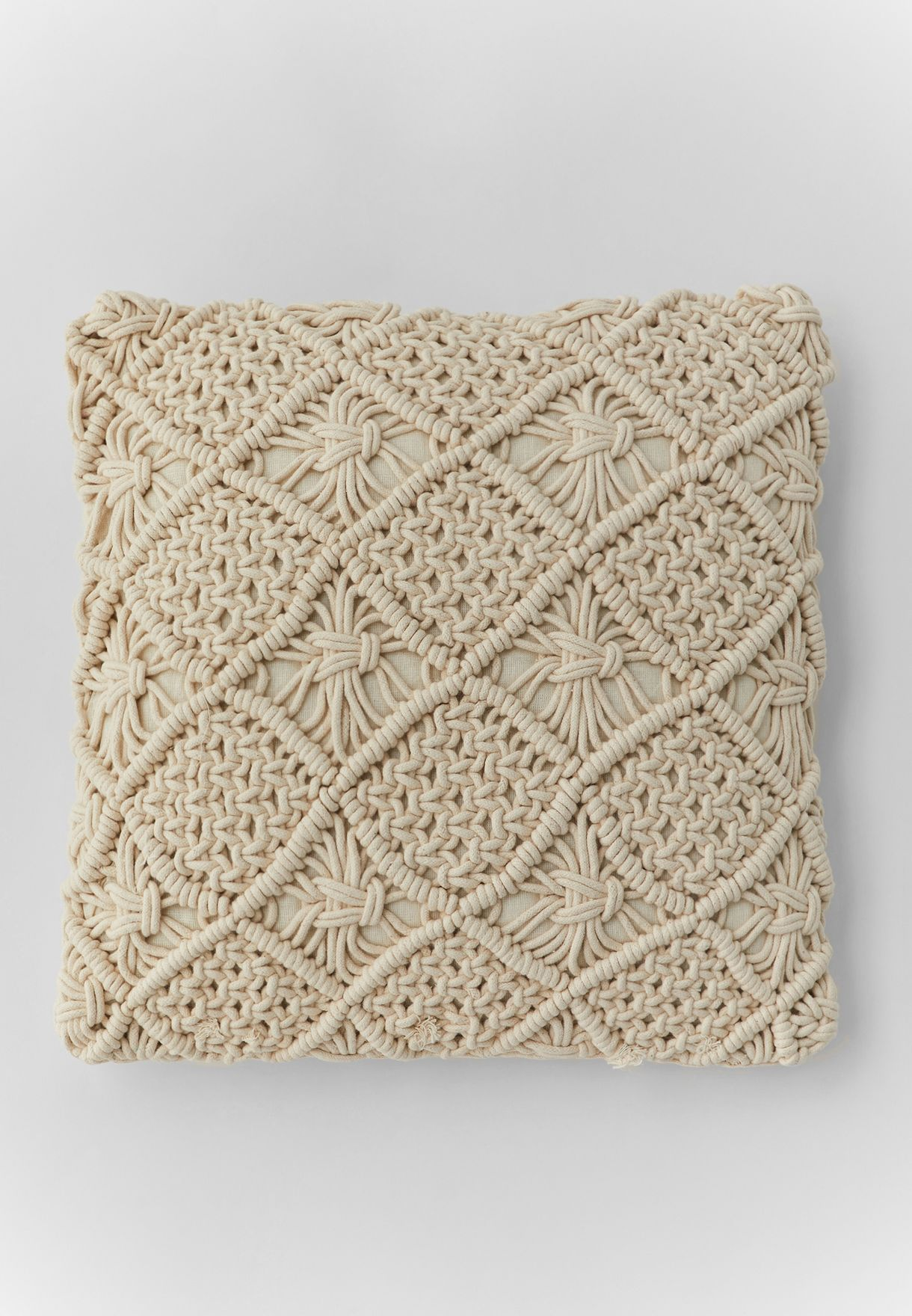 Macrame Cushion With Insert