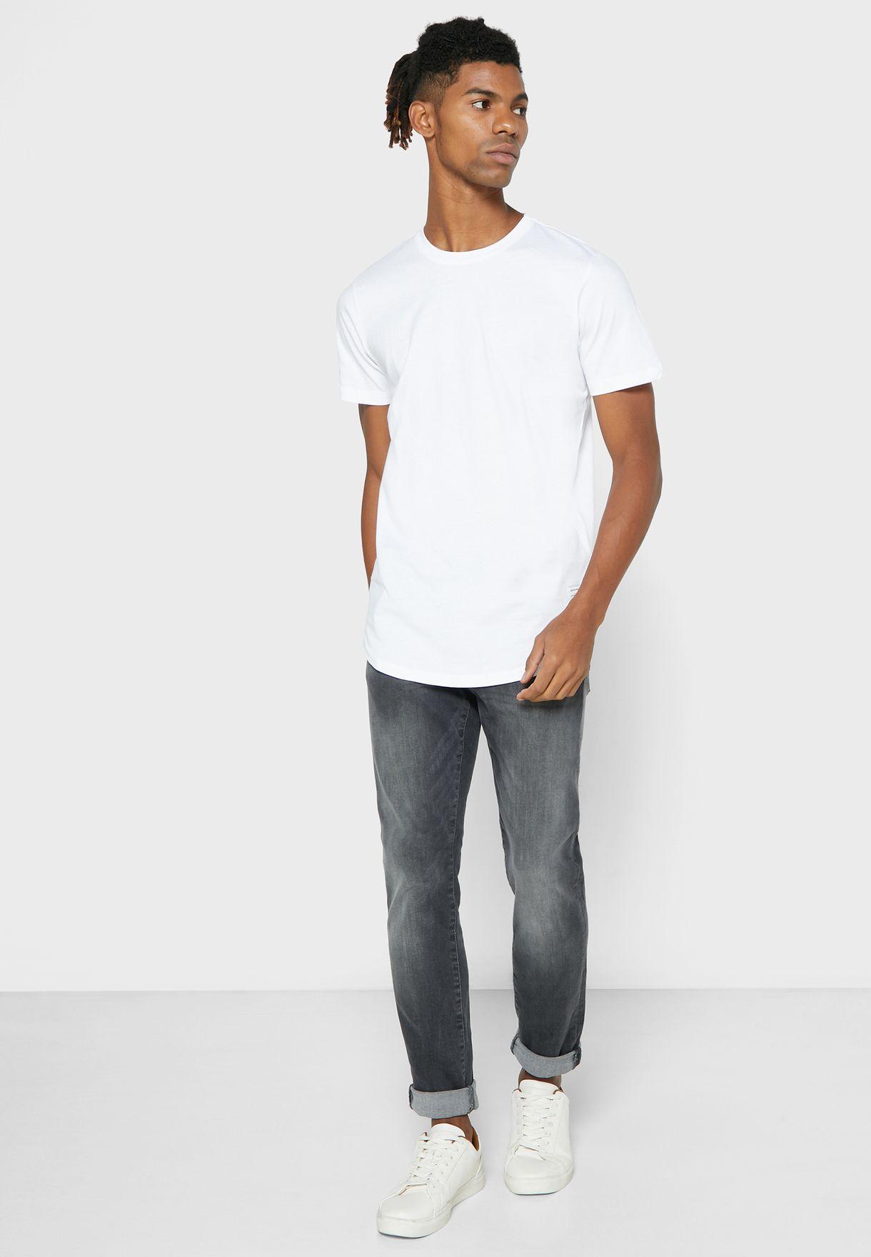 5 Pack Regular Fit Crew Neck T-Shirt