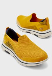 Skechers yellow Go Walk 5 55500-YEL