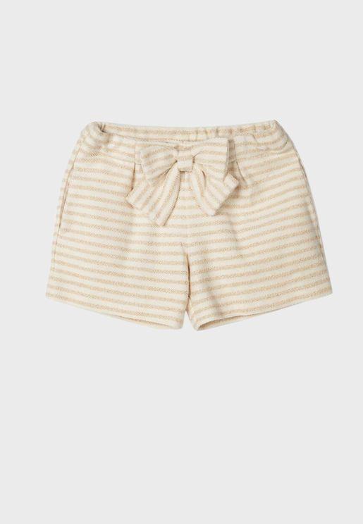 Kids Knot Detail Shorts