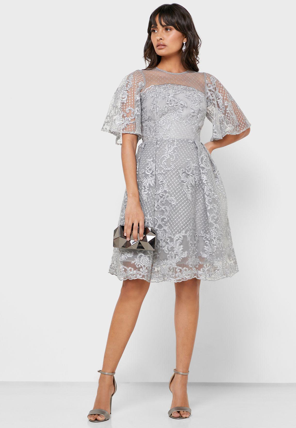 فستان بالترتر