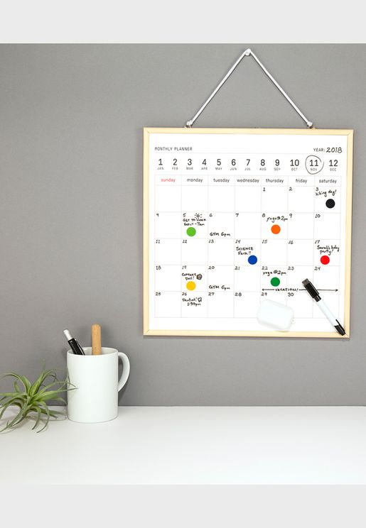 Large White Board Calendar