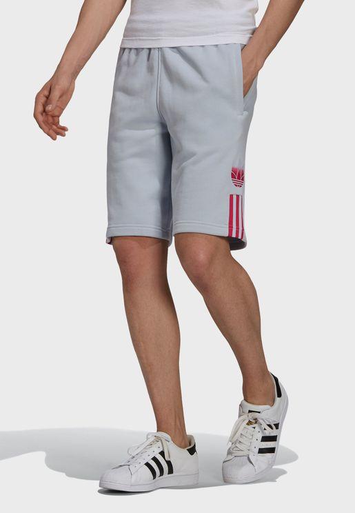 3D Trefoil Om Shorts