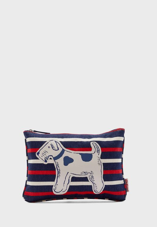 Dog Stripe Purse