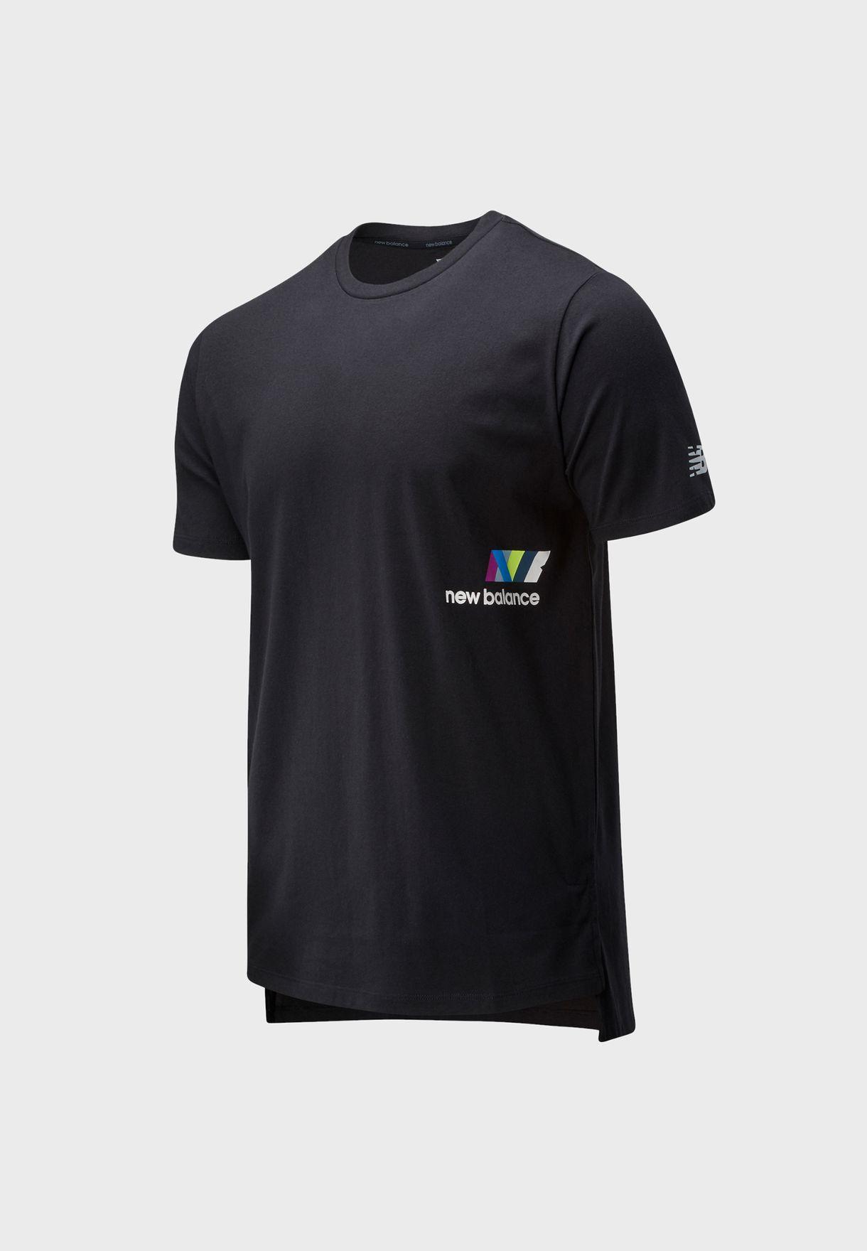 R.W.T. Heathertech Printed T-Shirt