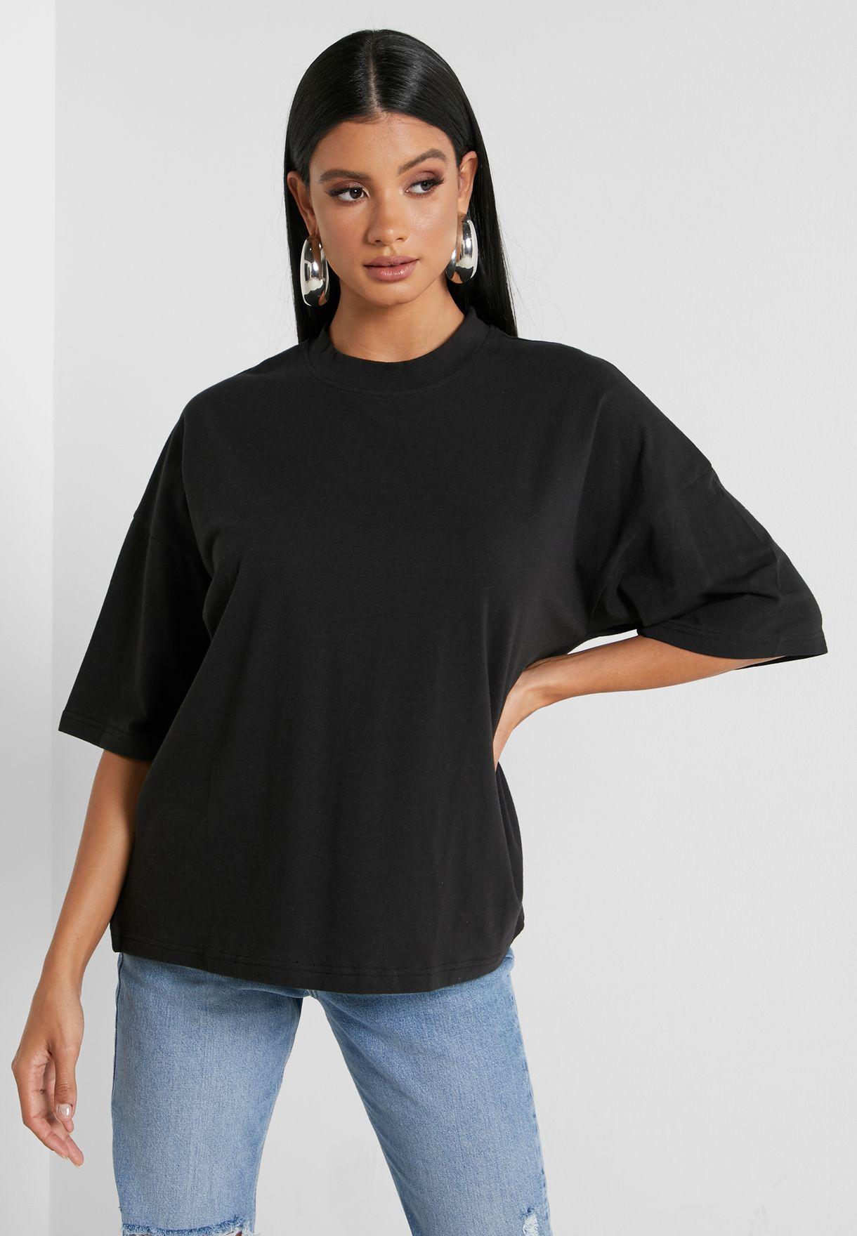 2 Packs Drop Shoulder Oversized T-Shirt