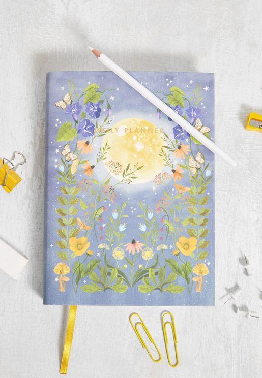Moonlight Garden Daily Planner