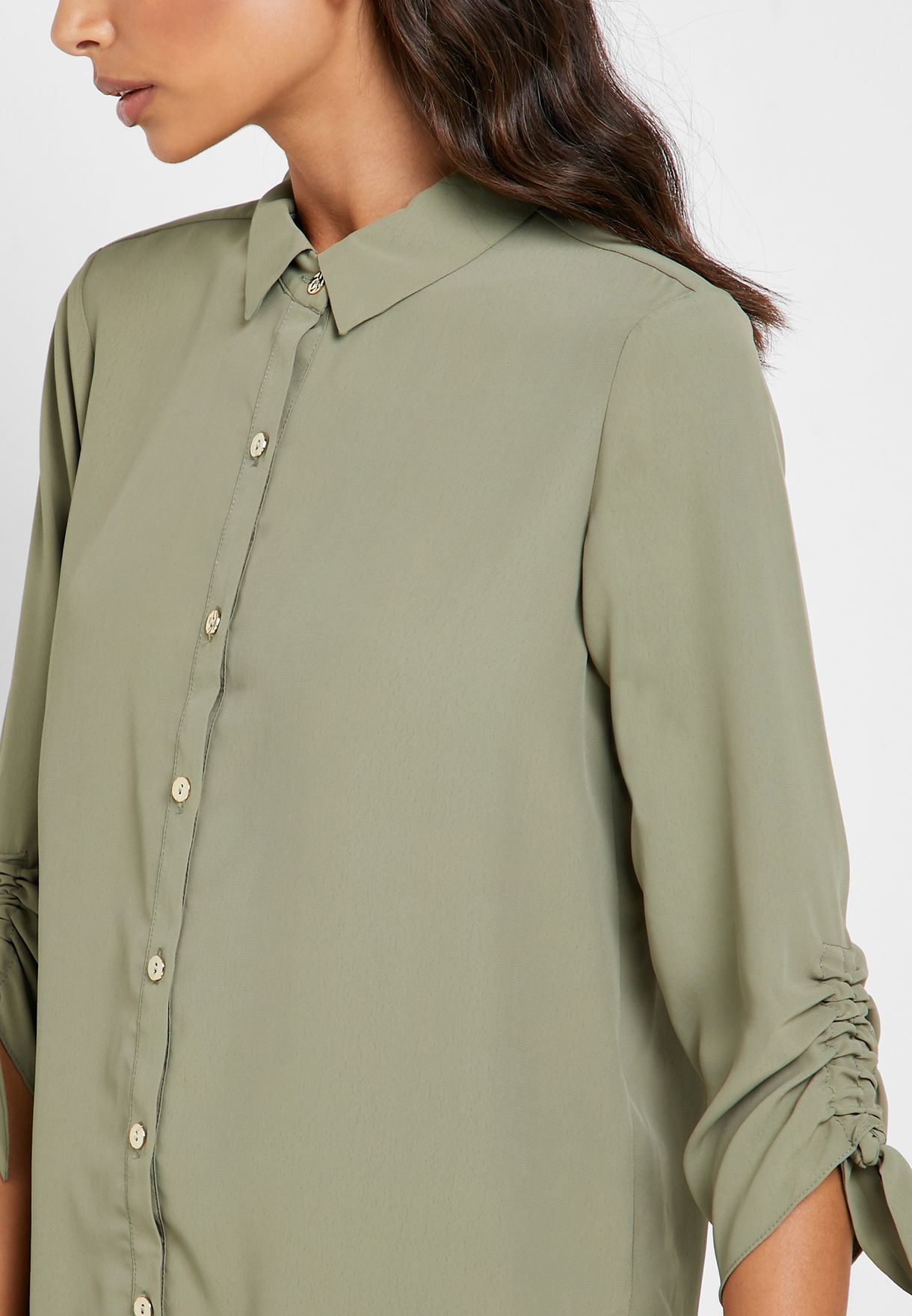 Roll Sleeve Shirt