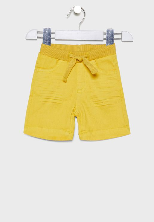 Infant Tie Waist Detail Shorts