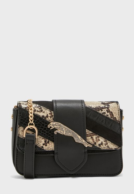 Leap Leopard Crossbody