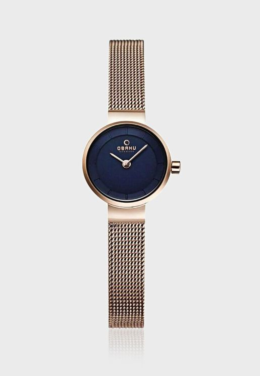 Spire Azure Analog Watch
