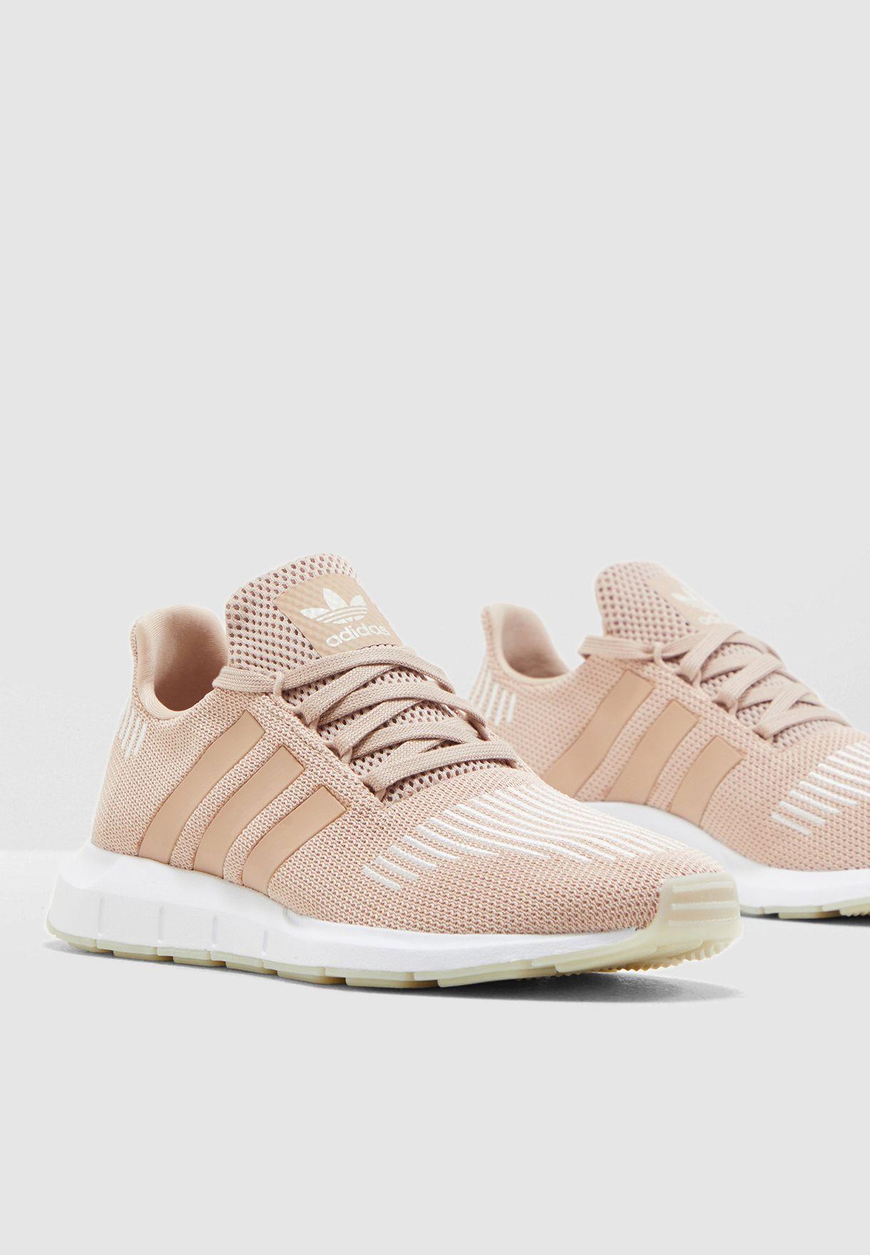 Buy adidas Originals pink Swift Run for