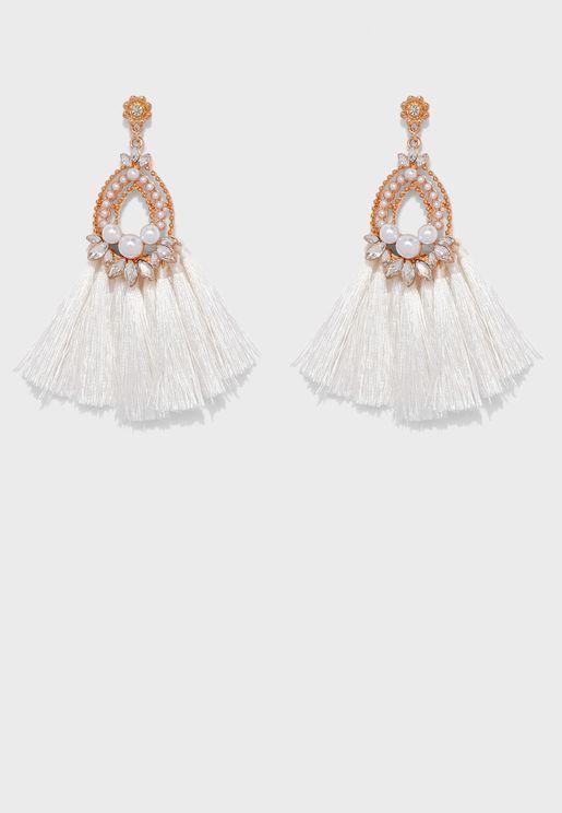 Erythrina Drop Earrings