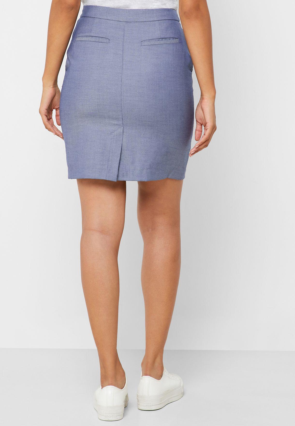 Gant Pencil Mini Skirt - Fashion