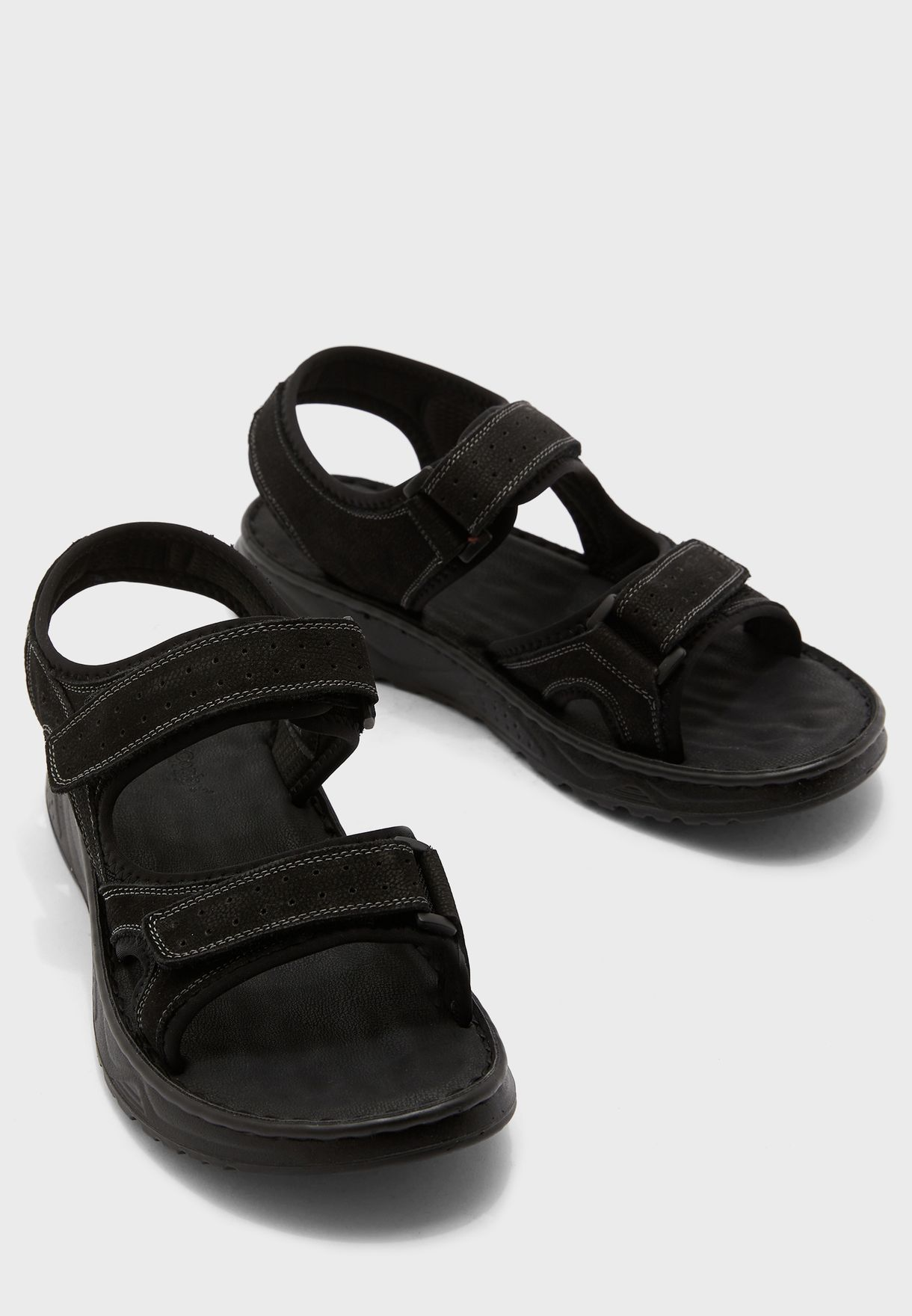 black strap sandals men