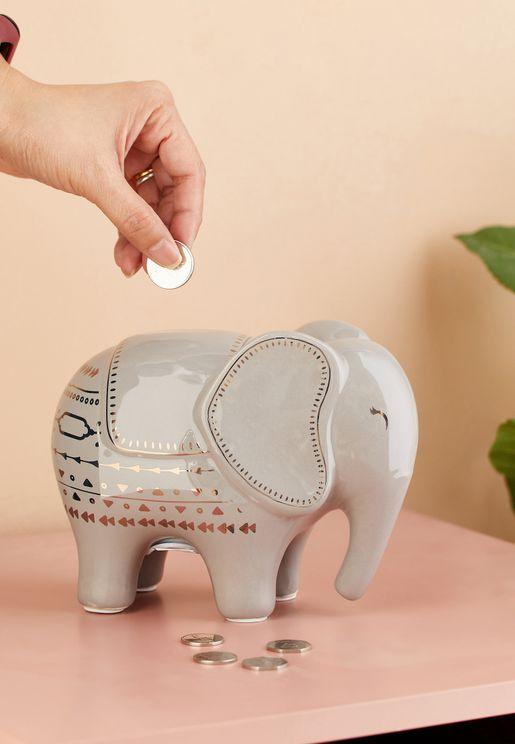 حصالة بشكل فيل