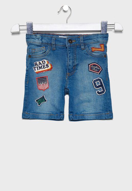 Little Badges Shorts