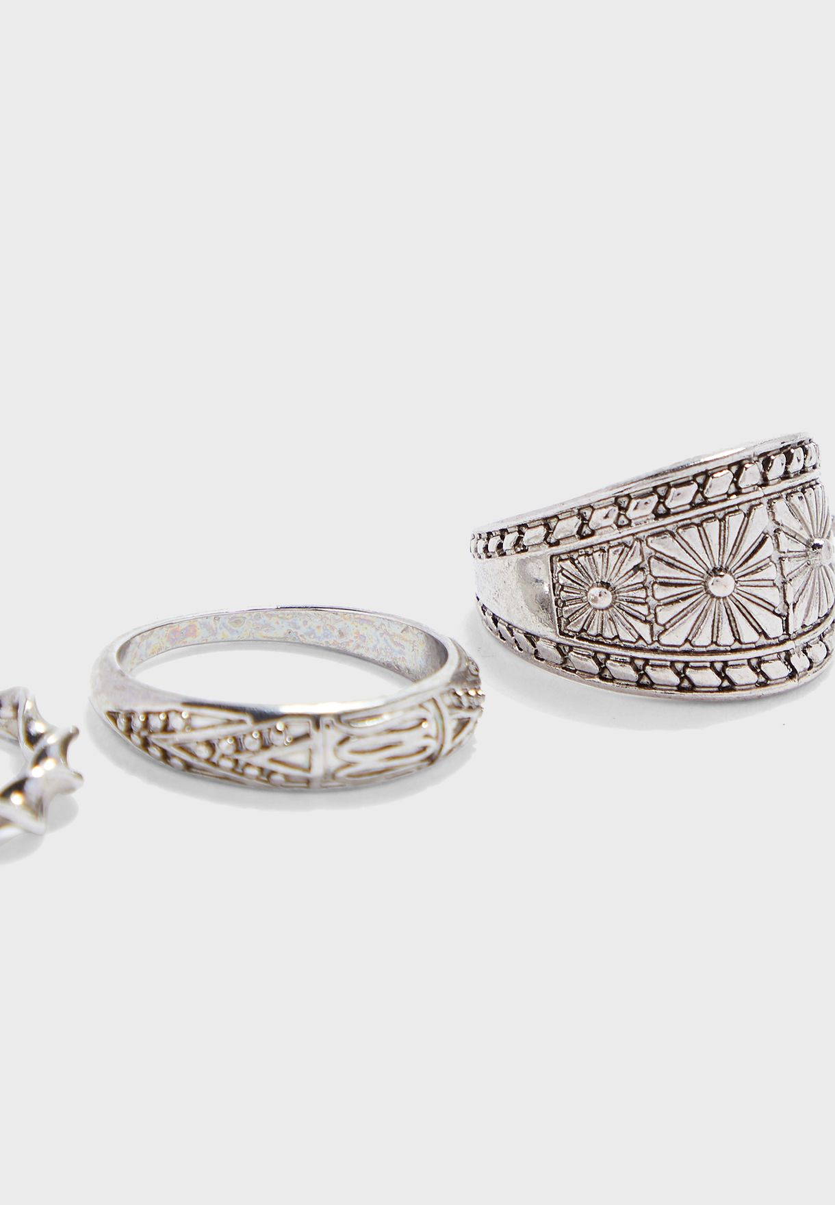 3 Pack Ring Set