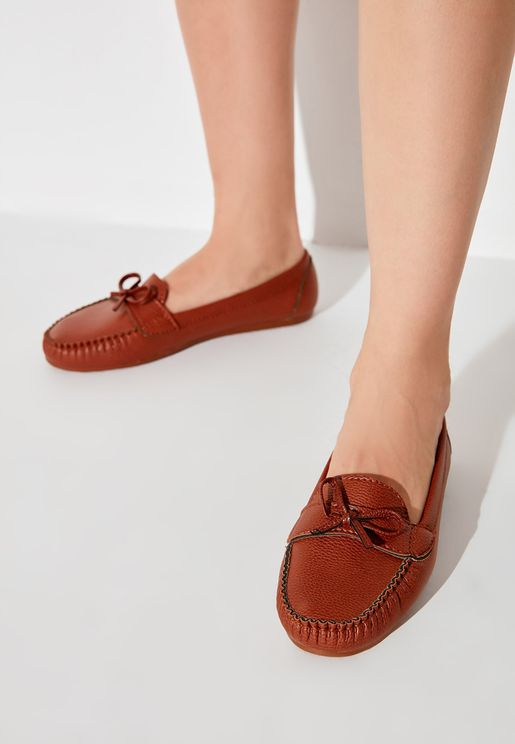 Knot Detail Moccasin